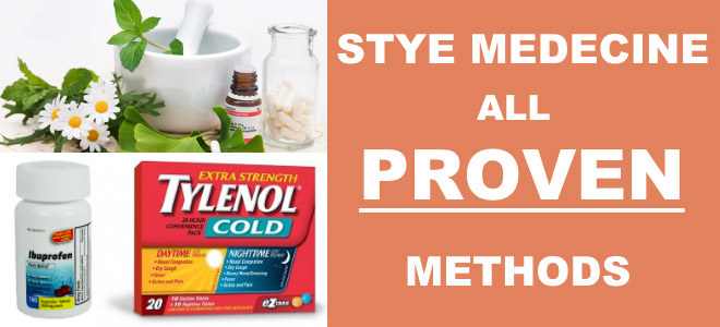 Stye Medecine: All Proven Methods